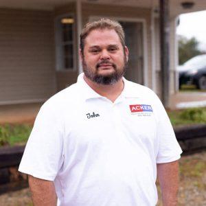 John Acker - Owner/Vice President since 1994